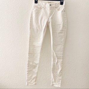 Size: 0/25 Lucky Brand White Sasha Super Skinny